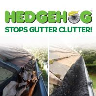 Easy Innovations Hedgehog Gutter Brush - 4m x 100mm